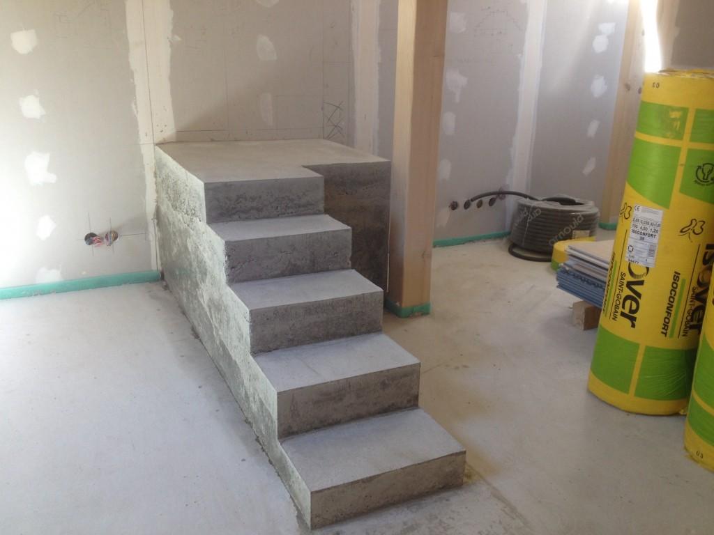 Escaliers et petites maçonneries